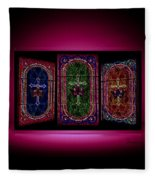 Stained Glass Fleece Blanket