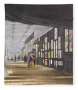 Stained Glass Gallery, From Dickinsons Fleece Blanket