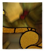 Stained Glass Lc 02 Fleece Blanket