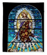 Stained Glass Pc 02 Fleece Blanket