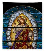 Stained Glass Pc 03 Fleece Blanket