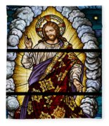 Stained Glass Pc 04 Fleece Blanket