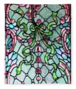 Stained Glass Window -2 Fleece Blanket