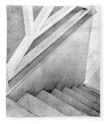 Staircase, Mexico City, C.1924 Fleece Blanket