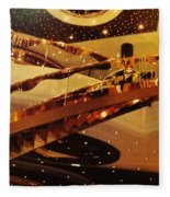 Stairs To The Stars Fleece Blanket