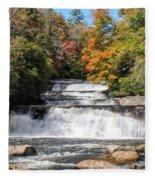 Stairway Falls Fleece Blanket