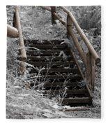 Stairway Home Fleece Blanket