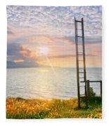 Stairway To Heaven Fleece Blanket
