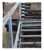 Stairway To Humdrum Fleece Blanket
