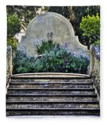 Stairway To Nowhere Fleece Blanket