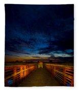 Stairway To The Stars Fleece Blanket