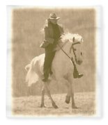 Stallion Strides Fleece Blanket