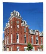 Stam's Hall Fleece Blanket