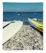 Stand Up Paddle Boards Fleece Blanket