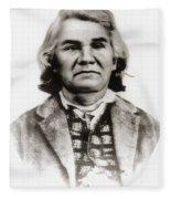 Stand Watie (1806-1871) Fleece Blanket