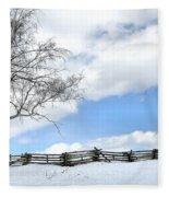 Standing Alone Fleece Blanket