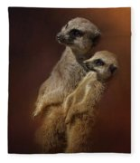 Standing At Attention Fleece Blanket