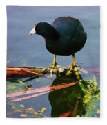 Standing On Water Fleece Blanket