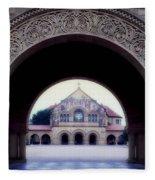 Stanford University Memorial Church Fleece Blanket