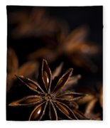 Star Anise Study Fleece Blanket