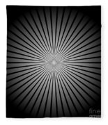 Star Black Fleece Blanket