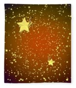 Star Gazers Fleece Blanket
