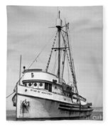 Star Of Monterey In Monterey Harbor Circa 1948 Fleece Blanket
