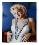 Star Of Wife Fleece Blanket