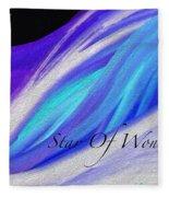 Star Of Wonder Fleece Blanket