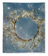Stardust And Pearls Fleece Blanket