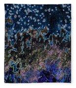 Stardust By Jrr Fleece Blanket