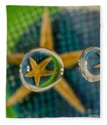 Starfish Refraction Fleece Blanket