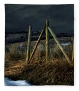 Starless Canadian Sky Fleece Blanket