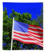 Stars And Stripes Fleece Blanket