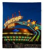 Starship 2000 Fleece Blanket