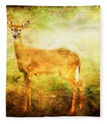 Startled Fleece Blanket