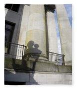 State Building Washington  Fleece Blanket