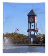 State Fairgrounds Fleece Blanket