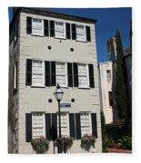State Street - Charlestons French Quarter Fleece Blanket
