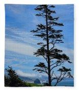 Stately Pine Fleece Blanket
