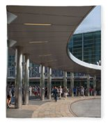 Staten Island Terminal Fleece Blanket