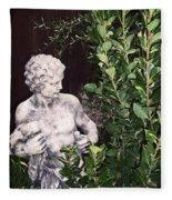 Statue 1 Fleece Blanket