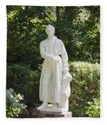 Statue 13 Fleece Blanket