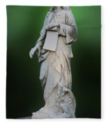 Statue 18 Fleece Blanket