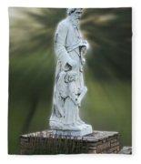 Statue 20 Fleece Blanket