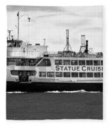 Statue Cruise Fleece Blanket