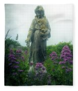 Statue Fleece Blanket