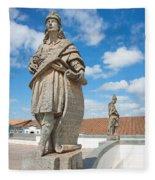 Statues Of Prophets Fleece Blanket