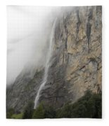 Staubbach Falls Fleece Blanket