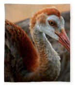 Staying Close To Mom Fleece Blanket